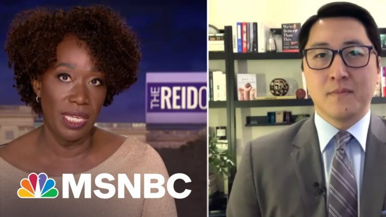 White House Announces New Initiatives To Address Anti-Asian Violence | The ReidOut | MSNBC 1