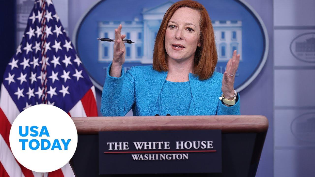 White House Press Secretary Jen Psaki briefs the press. (LIVE)   USA TODAY 1