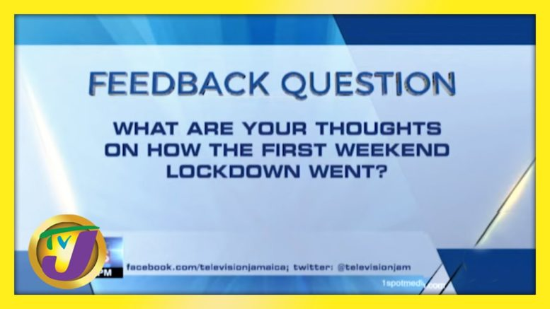 Feedback Question | TVJ News - March 29 2021 1