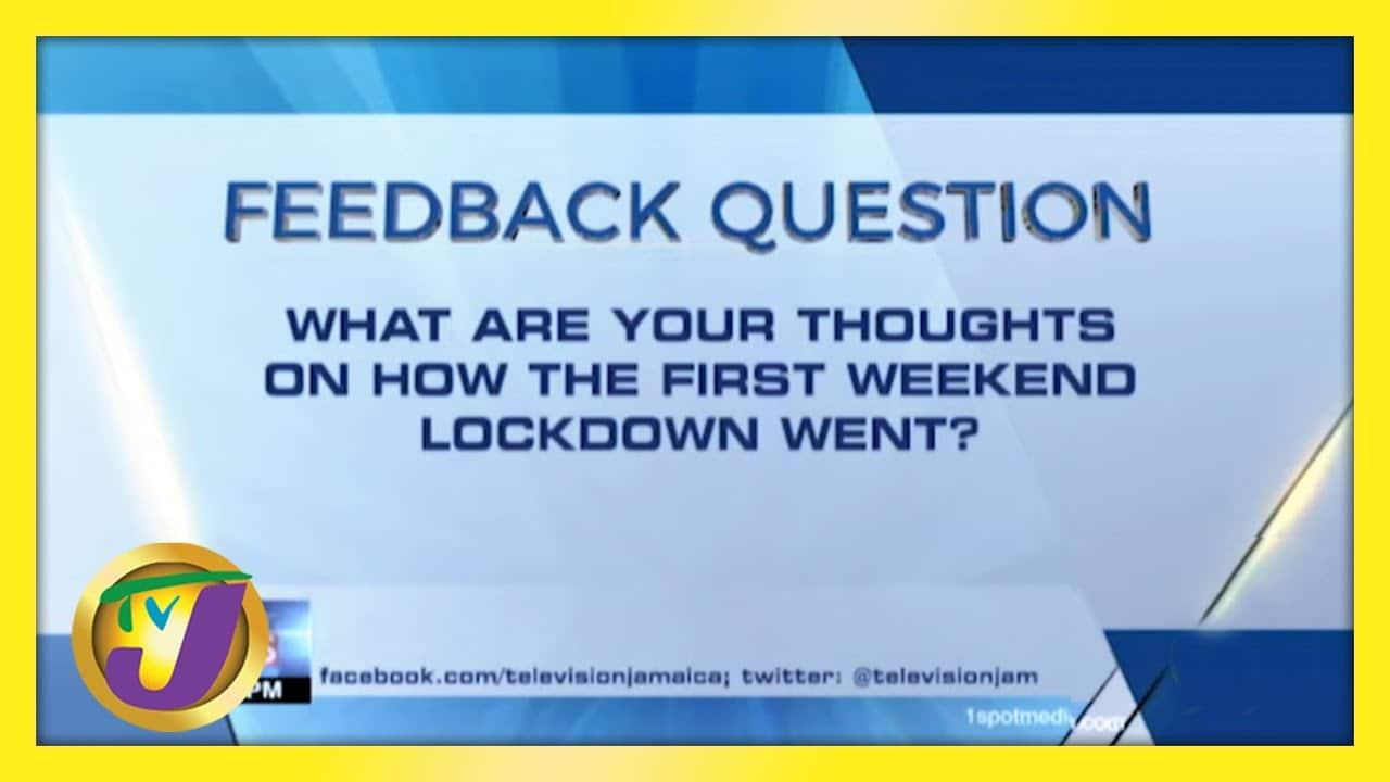 Feedback Question | TVJ News - March 29 2021 1