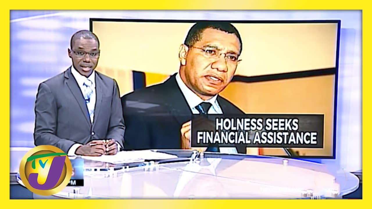 Jamaican PM Holness Seeks Financial Aid from Rich Countries | TVJ News - March 29 2021 1