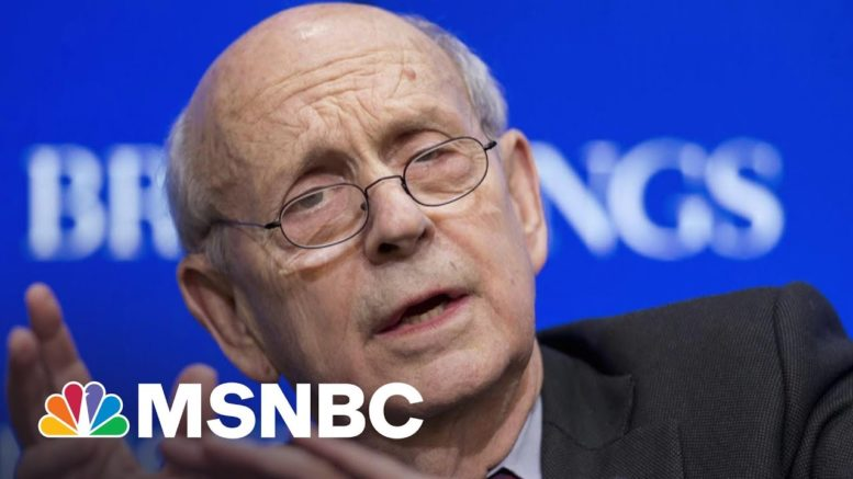 Pressure Builds For Justice Breyer To Retire From The Supreme Court | The Last Word | MSNBC 1