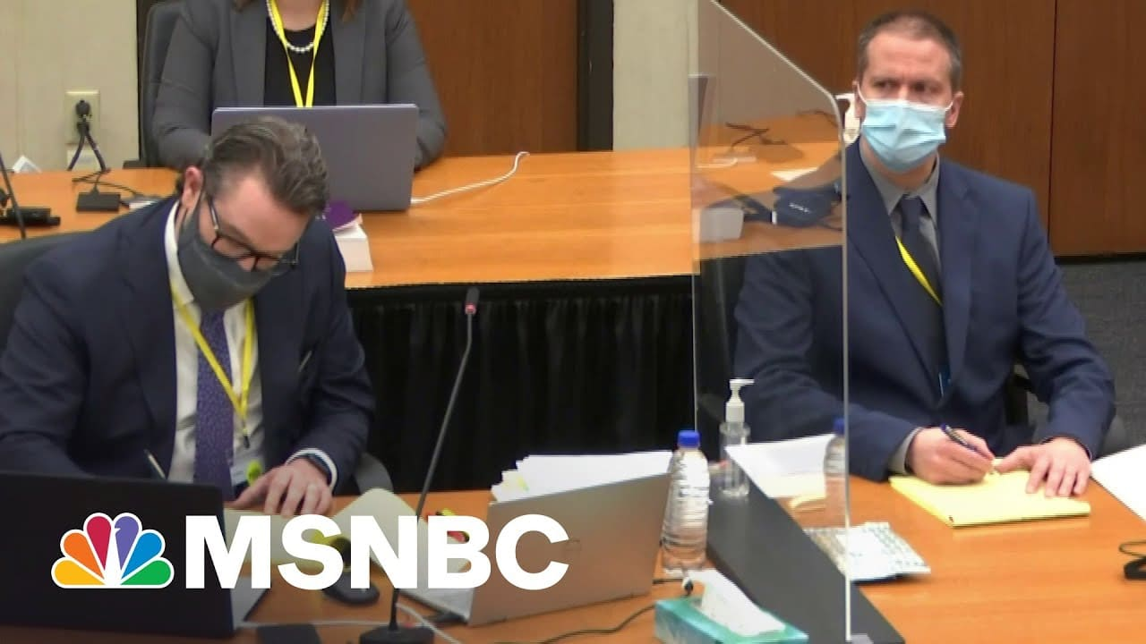 Teen Who Recorded George Floyd's Death Gives Heart-Wrenching Testimony | The Last Word | MSNBC 2