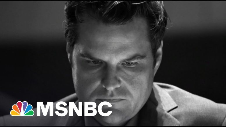 Gaetz Denies Wrongdoing And Claims Extortion After Bombshell Report | The 11th Hour | MSNBC 1