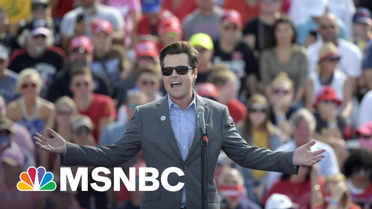 Investigation Of Gaetz Pre-Dates His Extortion Claim By Months: NYT | Rachel Maddow | MSNBC 7