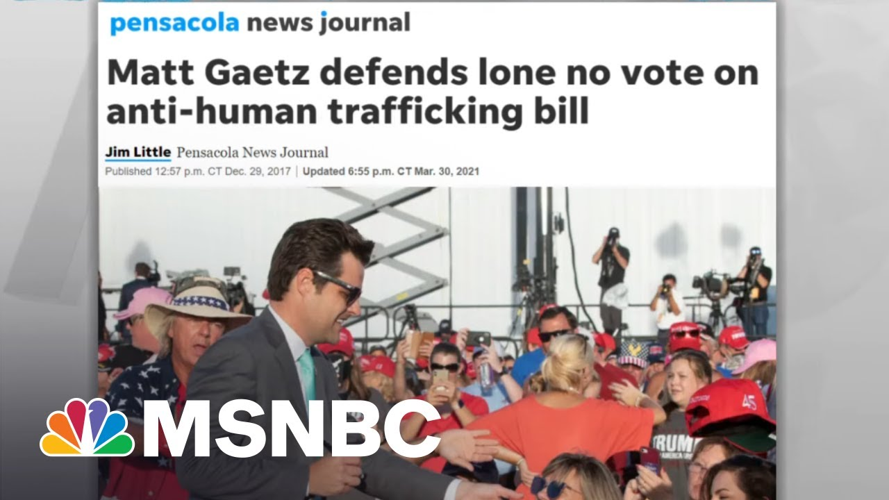 Gaetz Vote Against Anti-Human Trafficking Bill Seen In New Light Against Probe Revelation 1