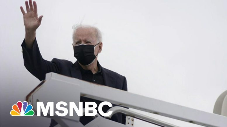 Biden's Approval Rating Over 50 Percent, Majority Approve Of His Handling Of Pandemic | Morning Joe 1