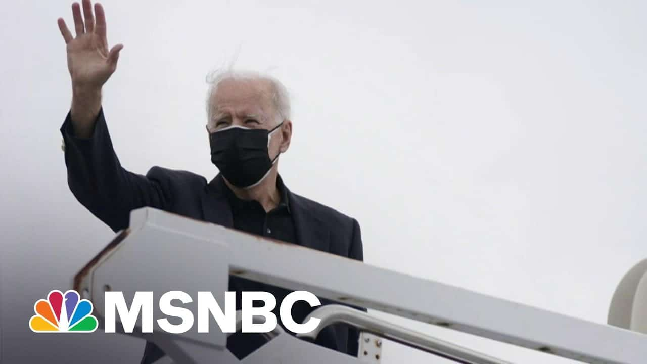 Biden's Approval Rating Over 50 Percent, Majority Approve Of His Handling Of Pandemic   Morning Joe 1