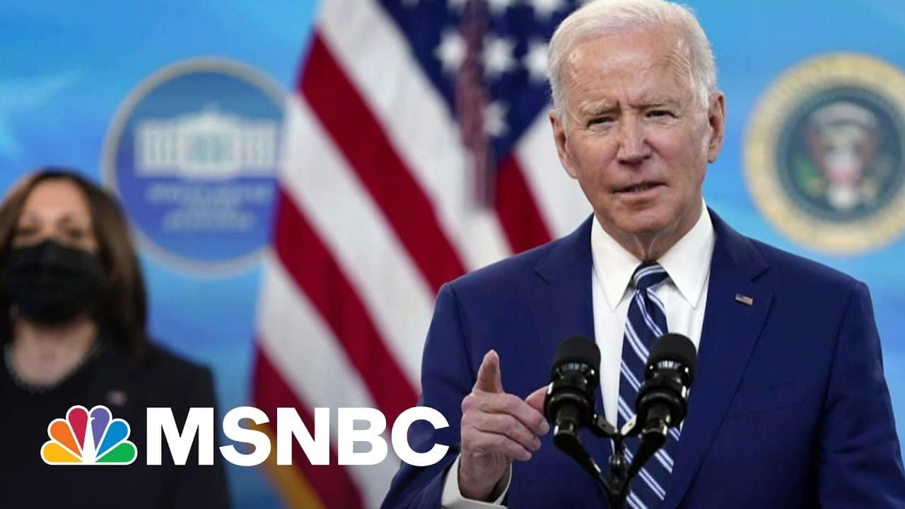 Biden Unveils New Details Of $2.2T Infrastructure Plan | Morning Joe | MSNBC 1