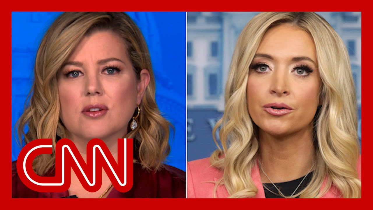 Keilar calls out Kayleigh McEnany's Capitol riot claims 1