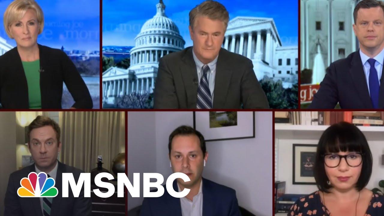 A 'Stark Partisan Divide' On Vaccinations? | Morning Joe | MSNBC 1