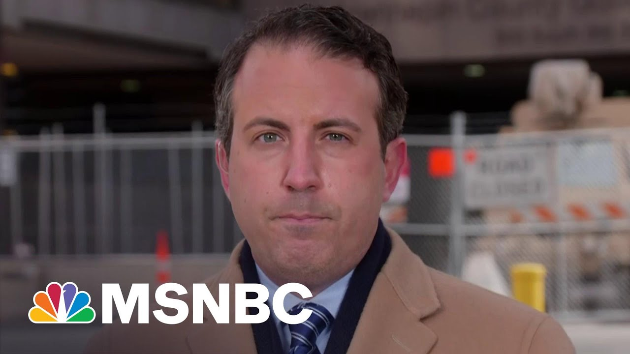 Chauvin Trial Juror Had 'Stress-Related' Reaction, Declined Medical Attention | Katy Tur | MSNBC 8