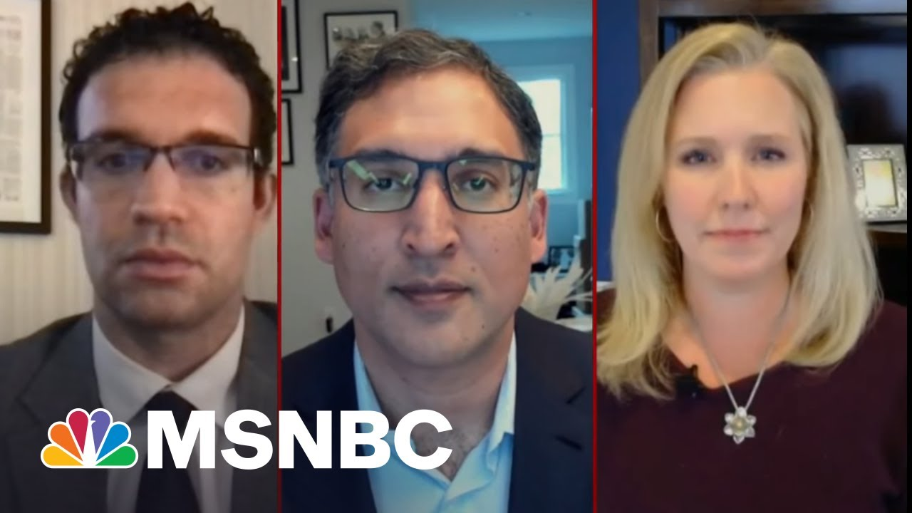 A New Lawsuit Holds Trump Directly Responsible For The Capitol Hill Riot | Deadline | MSNBC 9
