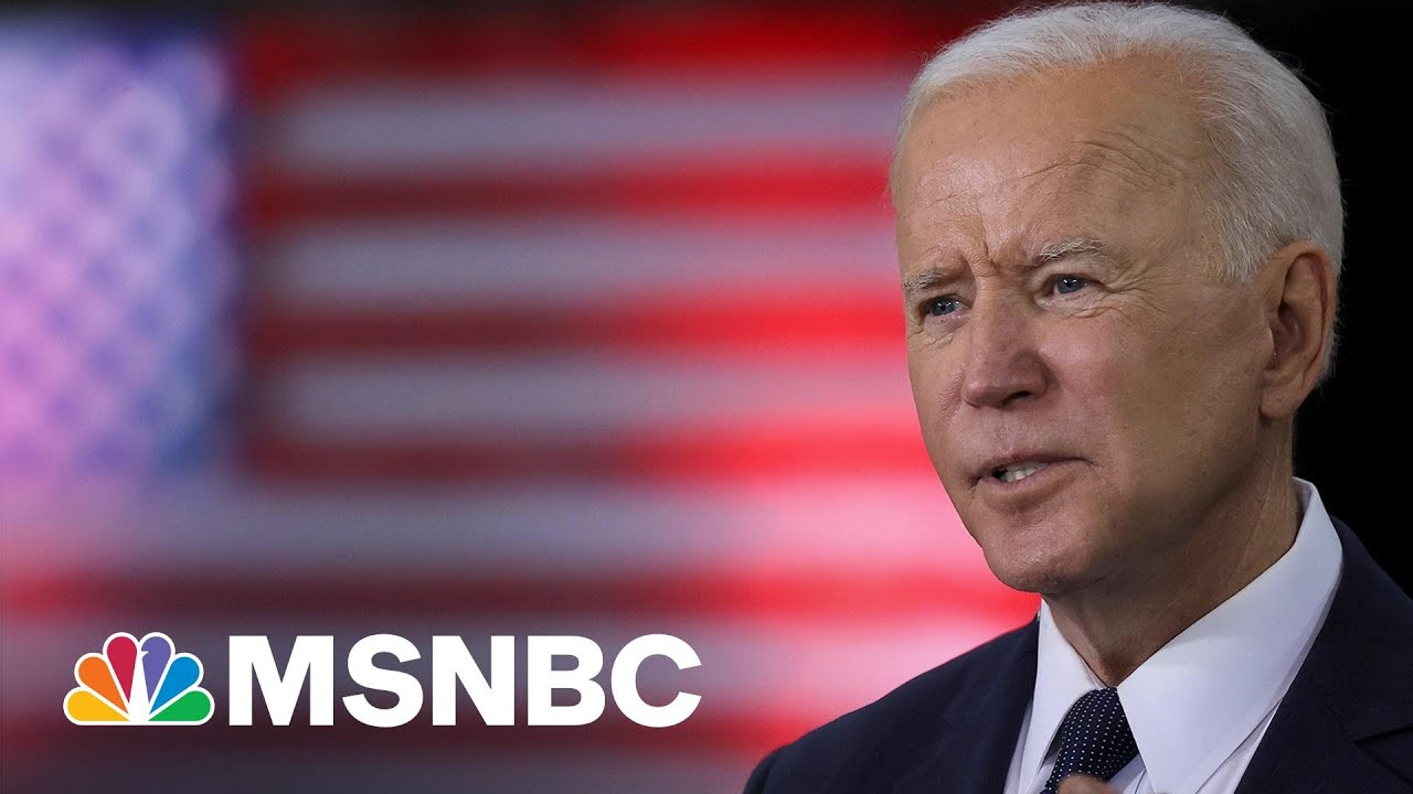 Biden: Infrastructure Plan A 'Once In A Generation Investment'   MSNBC 1
