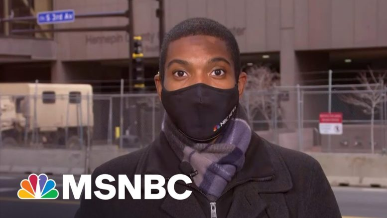 Police Body Cam Video Shows First Interaction Between George Floyd And Officers | Deadline | MSNBC 1