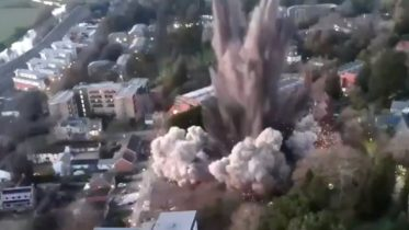 Watch this: WWII-era bomb detonated in the middle of a U.K. town 6