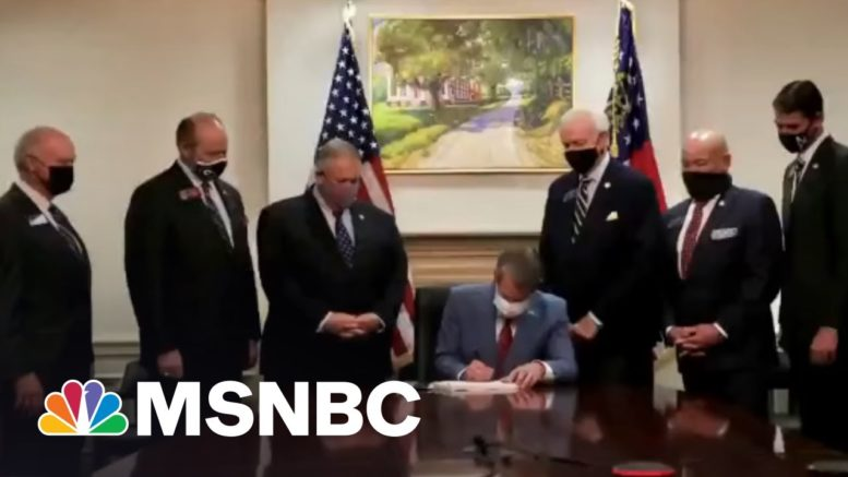 'Who Says Activism Is A Waste Of Time?': CEOs Pivot On Georgia Law Amid Pressure | All In | MSNBC 1