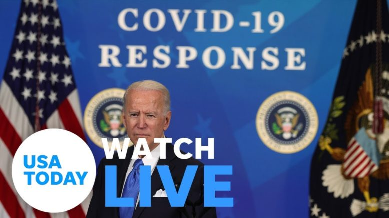 White House COVID-19 response team press briefing (LIVE) | USA TODAY 1