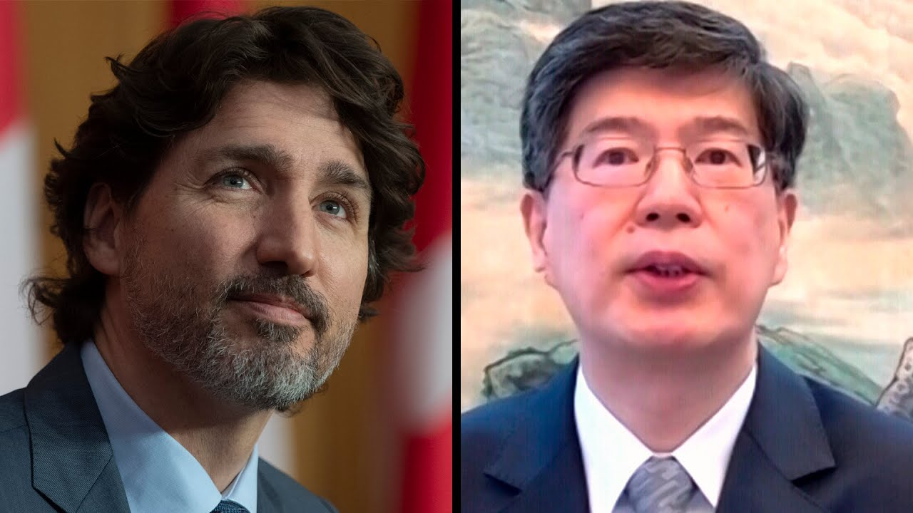 Trudeau snaps back after Chinese ambassador's comments 1