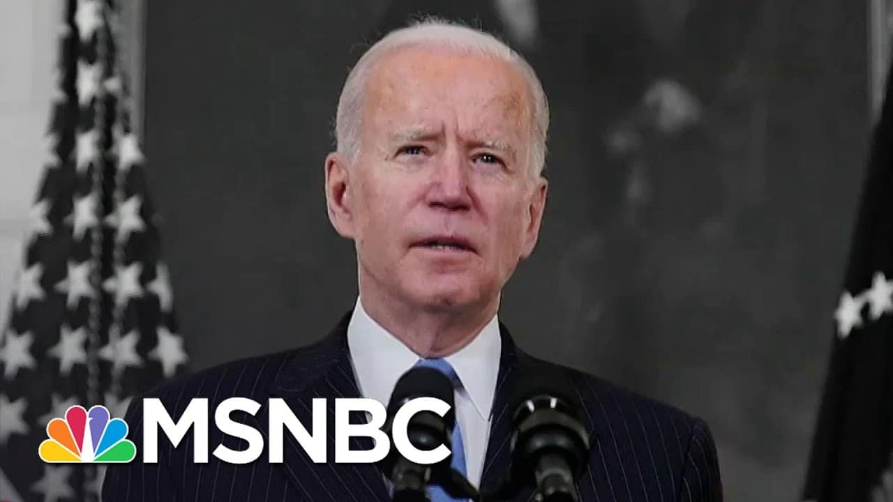 Biden: All U.S. Adults Will Have A Covid Vaccine By May   The 11th Hour   MSNBC 1