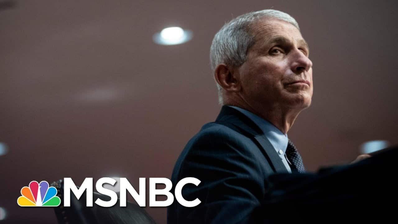 One Year Ago, Fauci Predicted How Bad A Covid Pandemic Could Be   The 11th Hour   MSNBC 1
