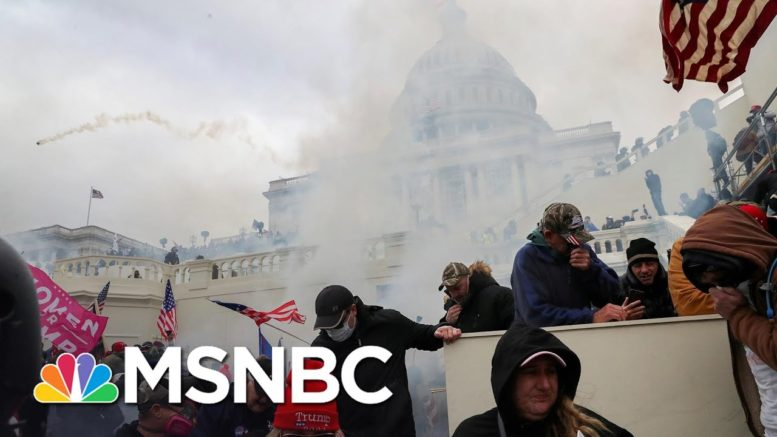 DHS, FBI Send Warning That Groups 'Discussed Plans' For Another Capitol Attack Soon | Craig Melvin 1