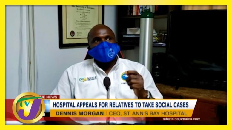 Jamaican Hospital Appeals for Relatives to Take Social Cases | TVJ News - March 2 2021 1