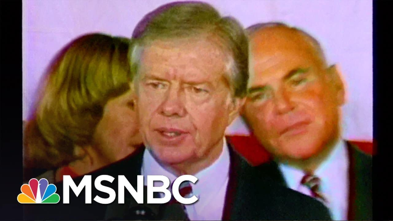 This is democracy in action. | Former Presidents | MSNBC 1