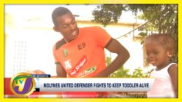 Jamaican Football Defender Fights to Keep Son Alive | TVJ Sports - March 2 2021 4