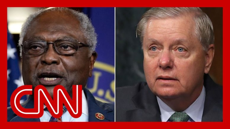 Clyburn slams Lindsey Graham's reparations comment 1