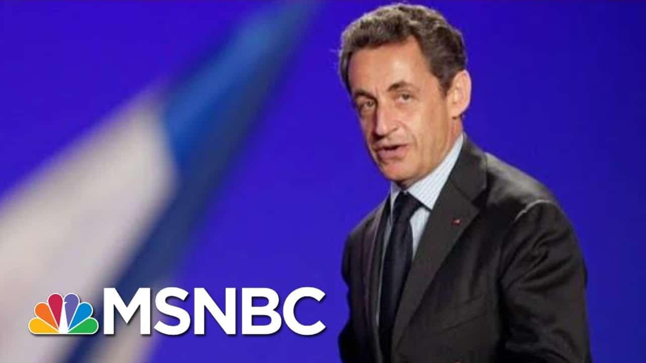 Former French President Sarkozy Sentenced To Jail | Morning Joe | MSNBC 1