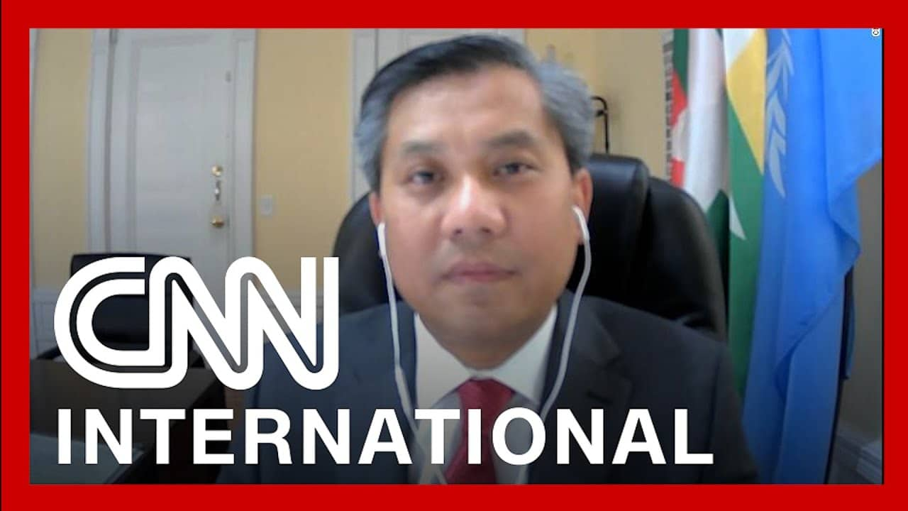 Myanmar UN Representative speaks after issuing plea to the world 1