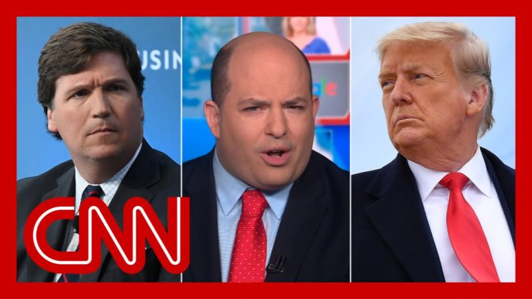 Stelter: Tucker Carlson is the new Donald Trump 1
