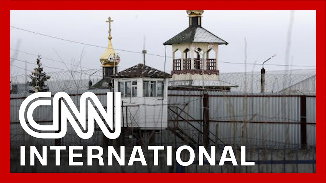 This is the prison camp where Navalny is being held 6