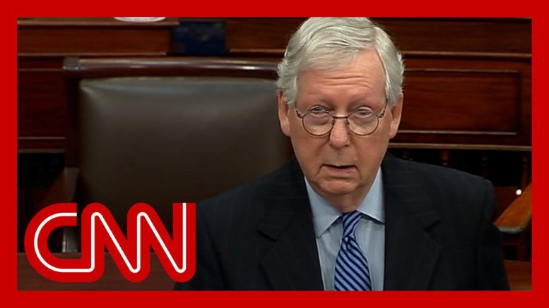 McConnell issues stark warning to Senate Democrats 1