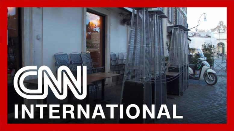 CNN in Rome as Italy enters third lockdown 1