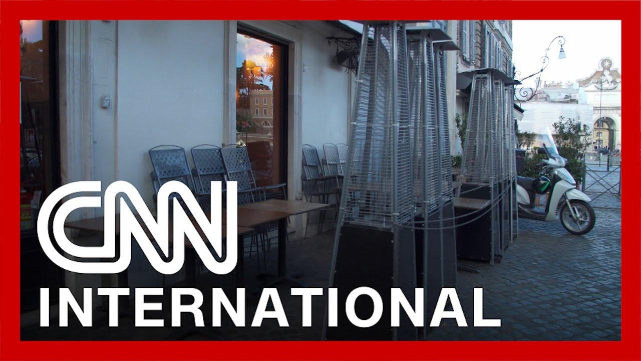 CNN in Rome as Italy enters third lockdown 6