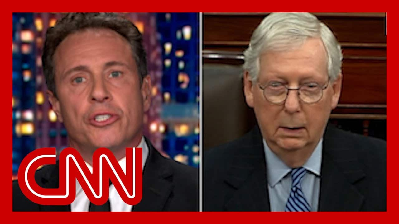 Cuomo slams McConnell's 'scorched earth' threat 1