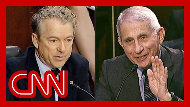 Rand Paul challenges Dr. Fauci (again). Watch his response 1