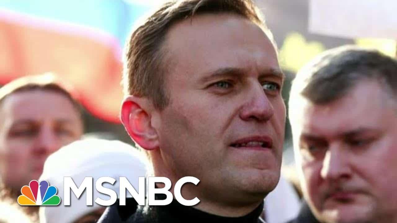 Alexei Navalny Sent To Notorious Russian Prison Camp   Morning Joe   MSNBC 1
