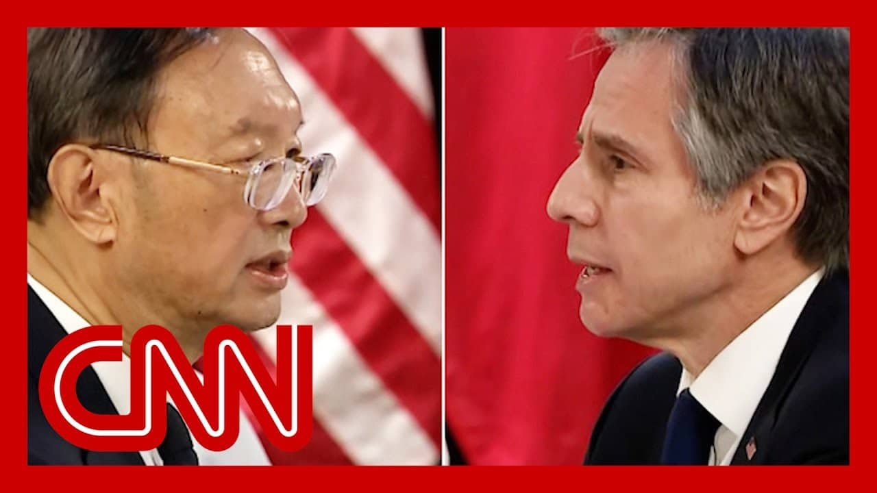 US-China meeting breaks into tense confrontation on camera 1