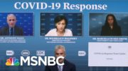 Zients: J&J Distribution, Delivery Will Be 'Uneven' Across Early Weeks Of March | MSNBC 5