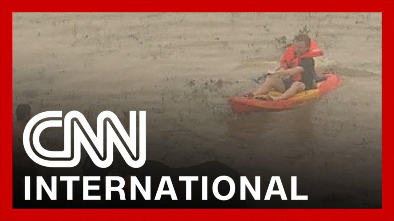 See video of 'life-threatening' floods in Australia 2