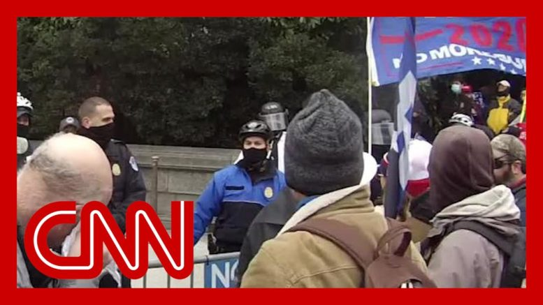 Capitol riot video appears to show attack on slain officer 1