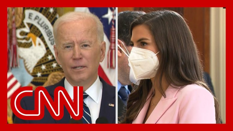 CNN's Kaitlan Collins presses Biden about his stance on the filibuster 1