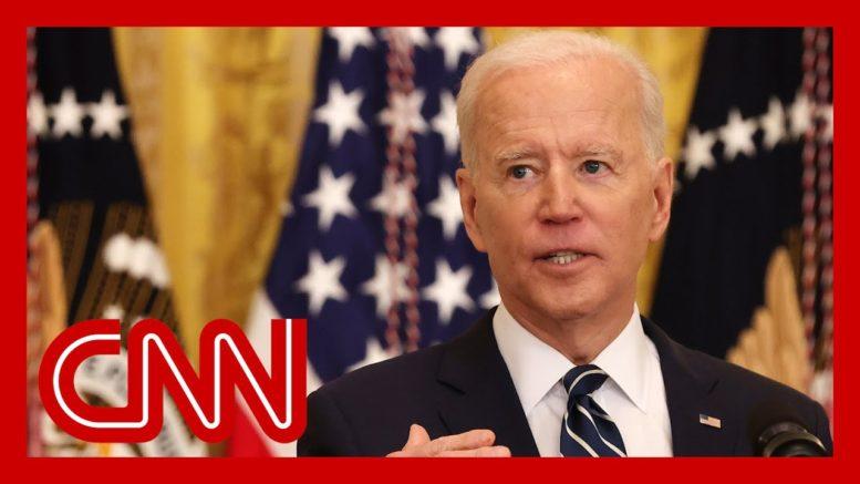 Watch Biden's first formal press conference 1