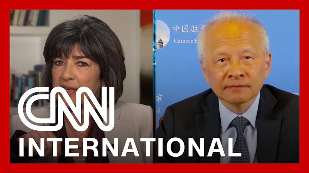 Chinese ambassador reacts to CNN Uyghur report 1