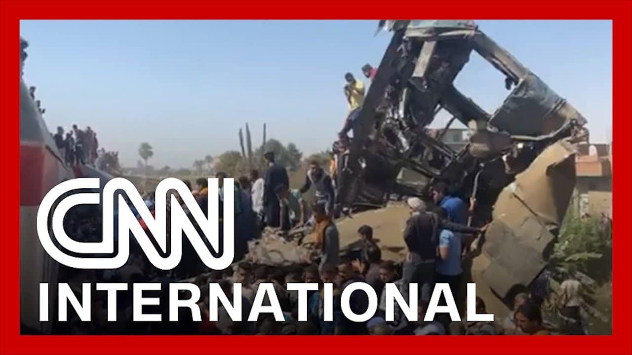 Egypt: Dozens killed as trains collide 8