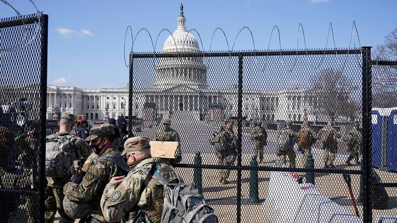 Warnings of a second militia plot to attack the U.S. Capitol 1
