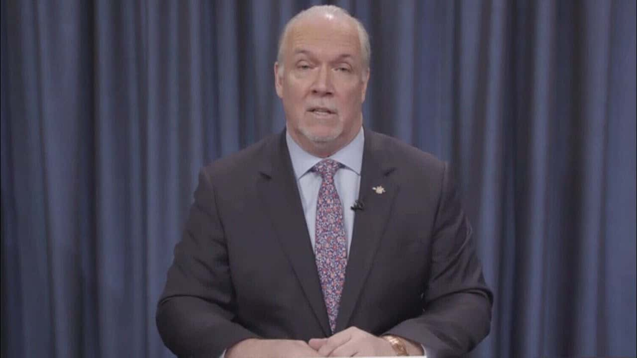 'System is at risk': B.C. Premier Horgan calls on Trudeau for more health-care funding   COVID-19 2
